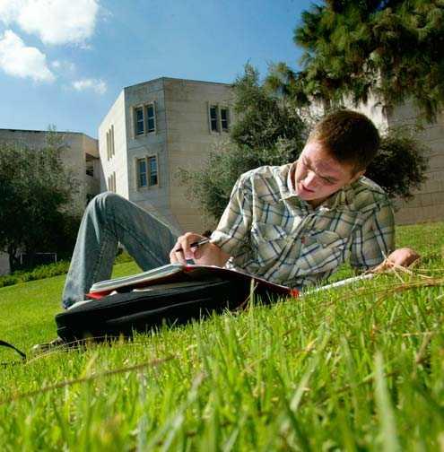 بيئة خضراء في الحرم الجامعي